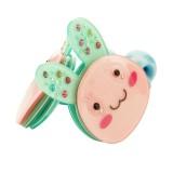 Hårsnoddar kaniner med glittriga öron