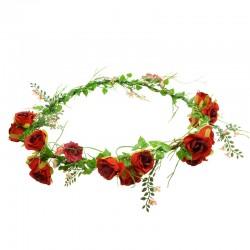 Hårkrans små rosor