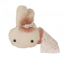 Hårband baby mjukis kanin