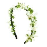 Diadem konstgjorda blommor
