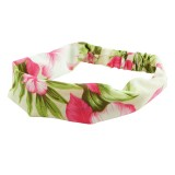 Hårband blommor och blad