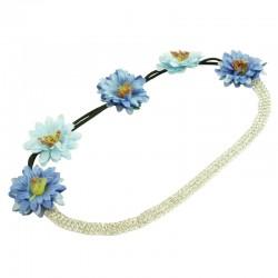 Hårband blommor eller strass