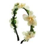Diadem konstgjord magnolia