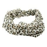 Hårband leopardfläckar