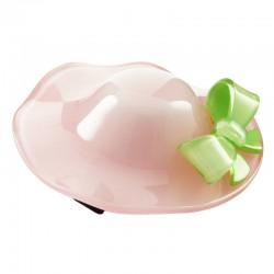 Hårklämma hatt med rosett
