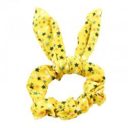 Scrunchie stjärnor med kaninöron