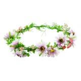 Blomsterkrans solrosor