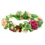 Blomsterkrans stora rosor