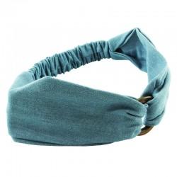Hårband jeanstyg med träring