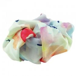 Scrunchie med pastellfärger