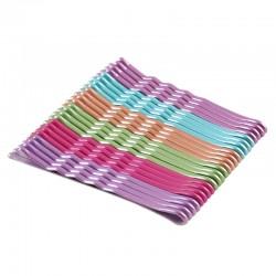 Hårnålar vågformade flerfärgade 24-pack