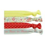 Ribbons gul/vit/röd/grå