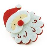 Hårklämma jultomte