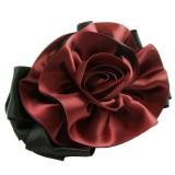 Hårspänne black rose
