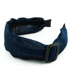 Diadem med spänne blue weave