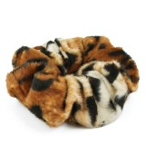 Scrunchie leopardmönster